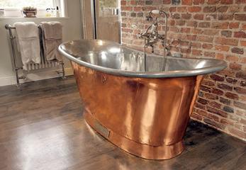 А это неэмалированная стальная ванна