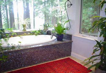 Большой ковер для ванной