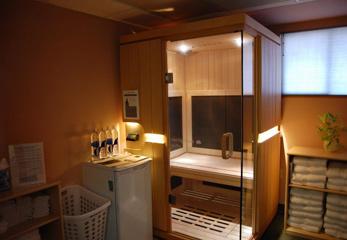 Инфракрасная сауна в ванной