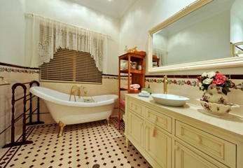 красивые дизайнерские проекты ванных