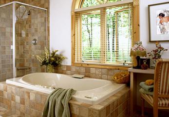 Монтируем окно в ванную