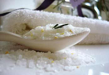 Одна ложка соли для ванной