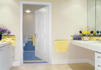 Особенности дверей в ванную