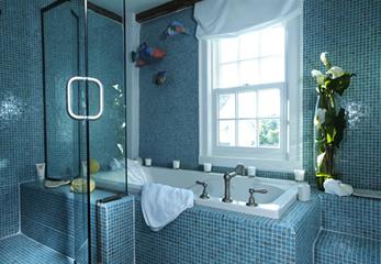Подбираем цвет ванной комнаты