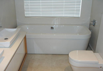 Простой ремонт небольшой ванной