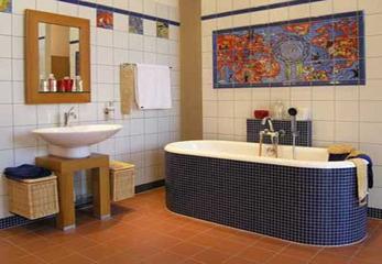Реализованный проект ванной комнаты