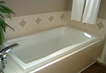 Акриловый вкладыш в ванную комнату