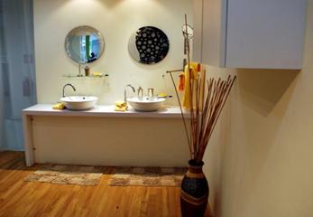 Ламинат на пол в ванную