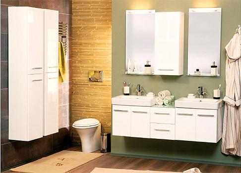 Шкаф навесной для ванной